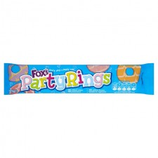 Foxs Biscuits Party Rings 125g