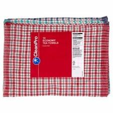 Clean Pro 10 Economy Tea Towels 44cm x 66cm