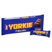 Nestle Yorkie Biscuits 7 Pack