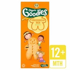 Organix 12 Month 15 Gingerbread Men 135g
