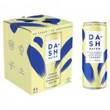 Dash Water Lemon 4 x 330ml