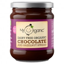 Mr Organic Chocolate and Hazelnut Spread 200g