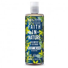 Faith in Nature Seaweed and Citrus Shower Gel and Foam Bath 400ml