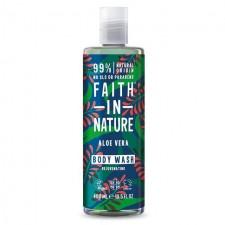 Faith in Nature Aloe Vera Shower Gel Foam Bath 400ml