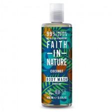 Faith in Nature Coconut Shower Gel Foam Bath 400ml