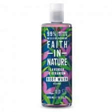 Faith in Nature Lavender and Geranium Shower Gel Foam Bath 400ml