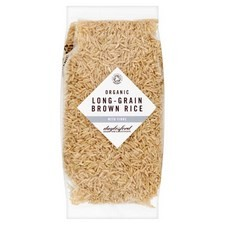 Daylesford Organic Brown Long Grain Rice 500g