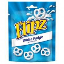 Flipz White Fudge Pretzels 90g