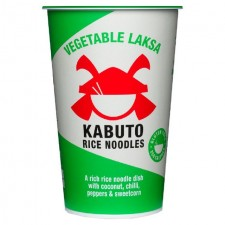Kabuto Noodles Gluten Free Vegetable Laksa 65g