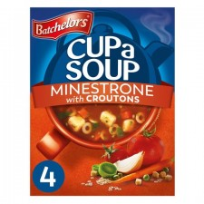 Batchelors Cup A Soup with Croutons Minestrone 4 Sachets