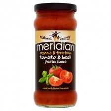 Meridian Free From Organic Tomato and Basil Pasta Sauce 350g