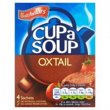 Batchelors Cup A Soup Original Oxtail 4 Sachet
