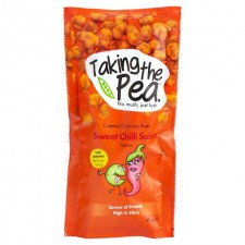 Taking The Pea Sweet Chilli Salsa Flavoured Crunchy Peas 40g