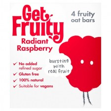 Get Fruity Radiant Raspberry Bar 4 x 35g
