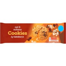 Sainsburys Oat and Sultana Cookies 200g