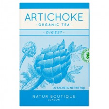 Natur Boutique Organic Artichoke Tea 20 per pack