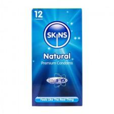 Skins Natural Condoms 12 per pack