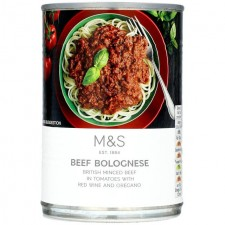 Marks and Spencer Beef Bolognese 400g