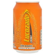 Retail Pack Lucozade Energy Orange 24x330ml Cans