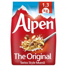 Alpen Original Swiss Recipe Muesli 1.1kg