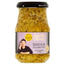Jamie Oliver Broad Bean Pea and Mint Pesto 190g