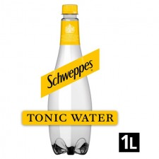 Schweppes Tonic Water 1 Litre Bottle