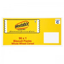 Catering Pack Weetabix 96 x 1 Biscuit Packs