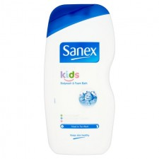 Sanex Dermo Kids Body Wash And Foam Bath 500ml