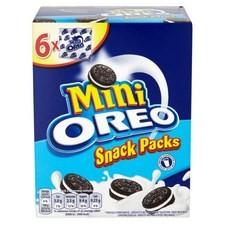 Mini Oreo Snack Packs Vanilla 6x25g