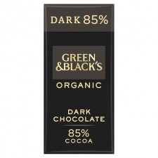 Green and Blacks Organic Chocolate 85% Dark 90g