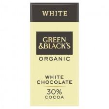 Green and Blacks Organic 30% White Chocolate 90g
