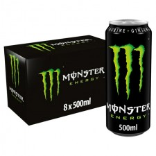 Monster Energy 8 x 500ml Cans