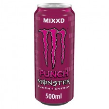 Monster Energy Punch Mixxd 500ml