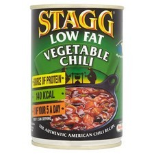 Stagg Vegetable Chili 99% Fat Free 400g