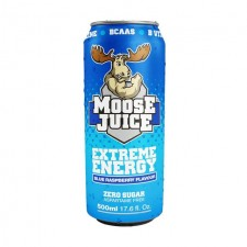Muscle Moose Moose Juice Extreme Energy Blue Raspberry Flavour 500ml