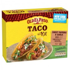 Old El Paso Sweet Paprika and Garlic Taco Kit 308g
