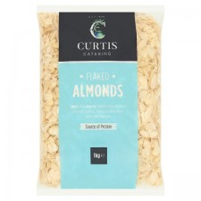 Catering Size Curtis Catering Flaked Almonds 1kg