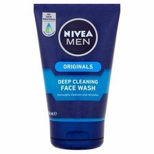Nivea For Men Deep Cleaning Face Wash 100ml
