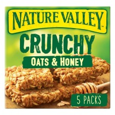 Nature Valley Oats And Honey 5 x 42g