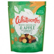 Whitworths White Chocolate and Apple 130g