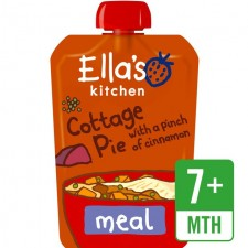 Ellas Kitchen Cottage Pie with a Pinch of Cinnamon 130g 7 Month