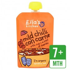 Ellas Kitchen Organic Chilli Con Carne with Rice 7 Months 130g