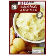 Morrisons Instant Potato and Onion Mash 80g