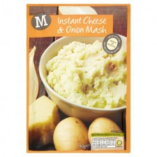 Morrisons Instant Cheese and Onion Mash 80g