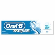 Oral B Paste Complete Extra White 100ml