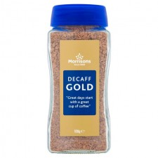 Morrisons Decaff Gold Full Roast Instant Coffee 100g