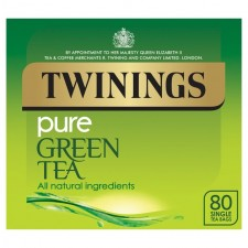 Twinings Pure Green Tea 80 Teabags.