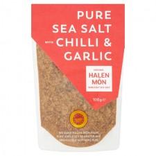 Halen Mon Chilli and Roasted Garlic Sea Salt 100g