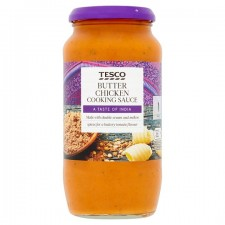 Tesco Butter Chicken Cooking Sauce 500g jar
