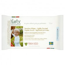 Naty Eco Baby Wipes Lightly Scented 56 per pack